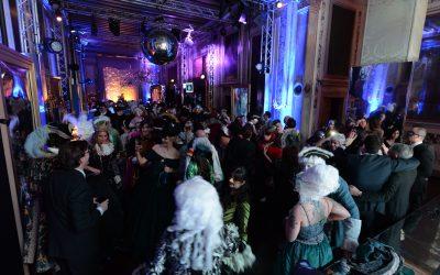 Venezia,{ today}, carnevale 2018 - cena di gala a ca' vendramin calergi(c)Vision/Vela