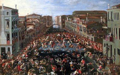 1673 Heintz Wettstreit Ponte dei pugni