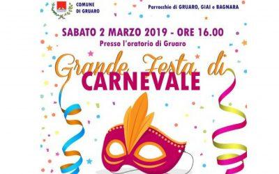 Foto Carnevale Gruaro 2019